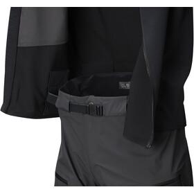 Mountain Hardwear CloudSeeker 3L Bib-pyöräilyhousut Miehet, shark